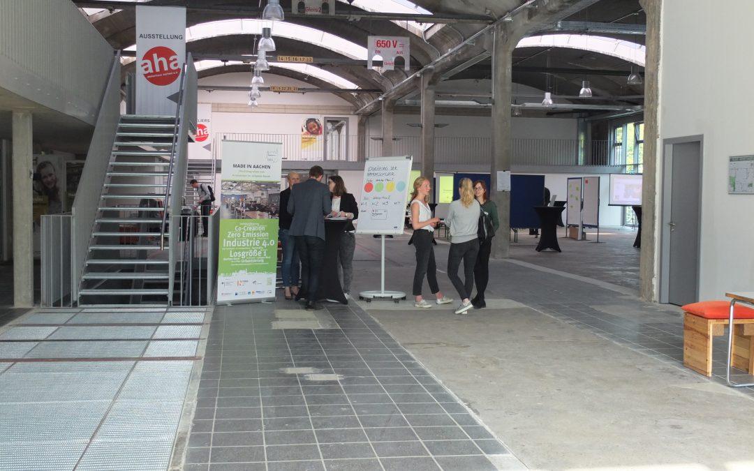 Zukunftswerkstatt #2 bei Made In Aachen – wir waren dabei!