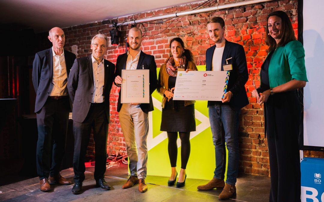 ChargAire gewinnt den ersten Sonderpreis Urbane Produktion!