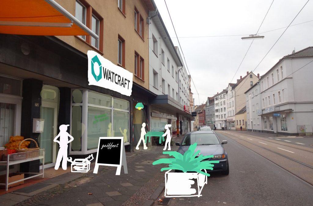 WatCraft – Zwischennutzung in Wattenscheid startet