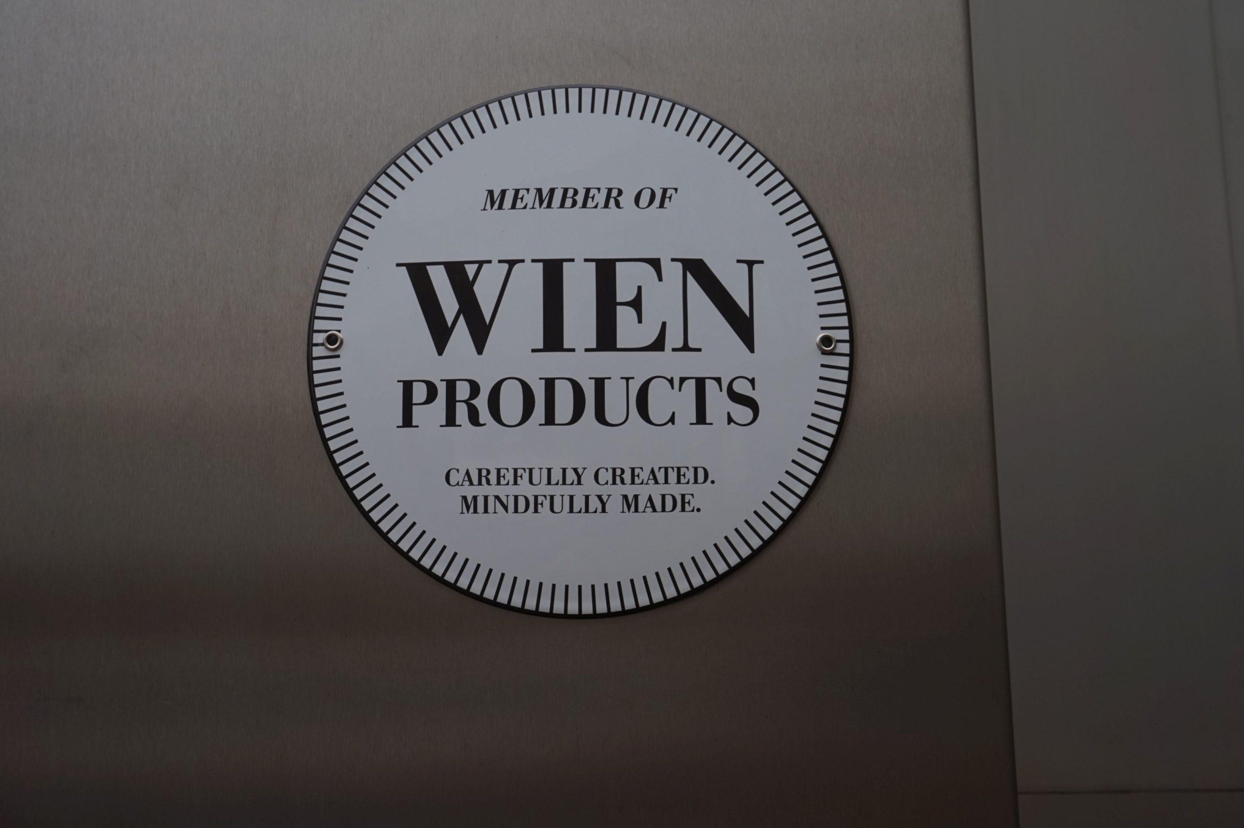 Label-Aufkleber Wien products