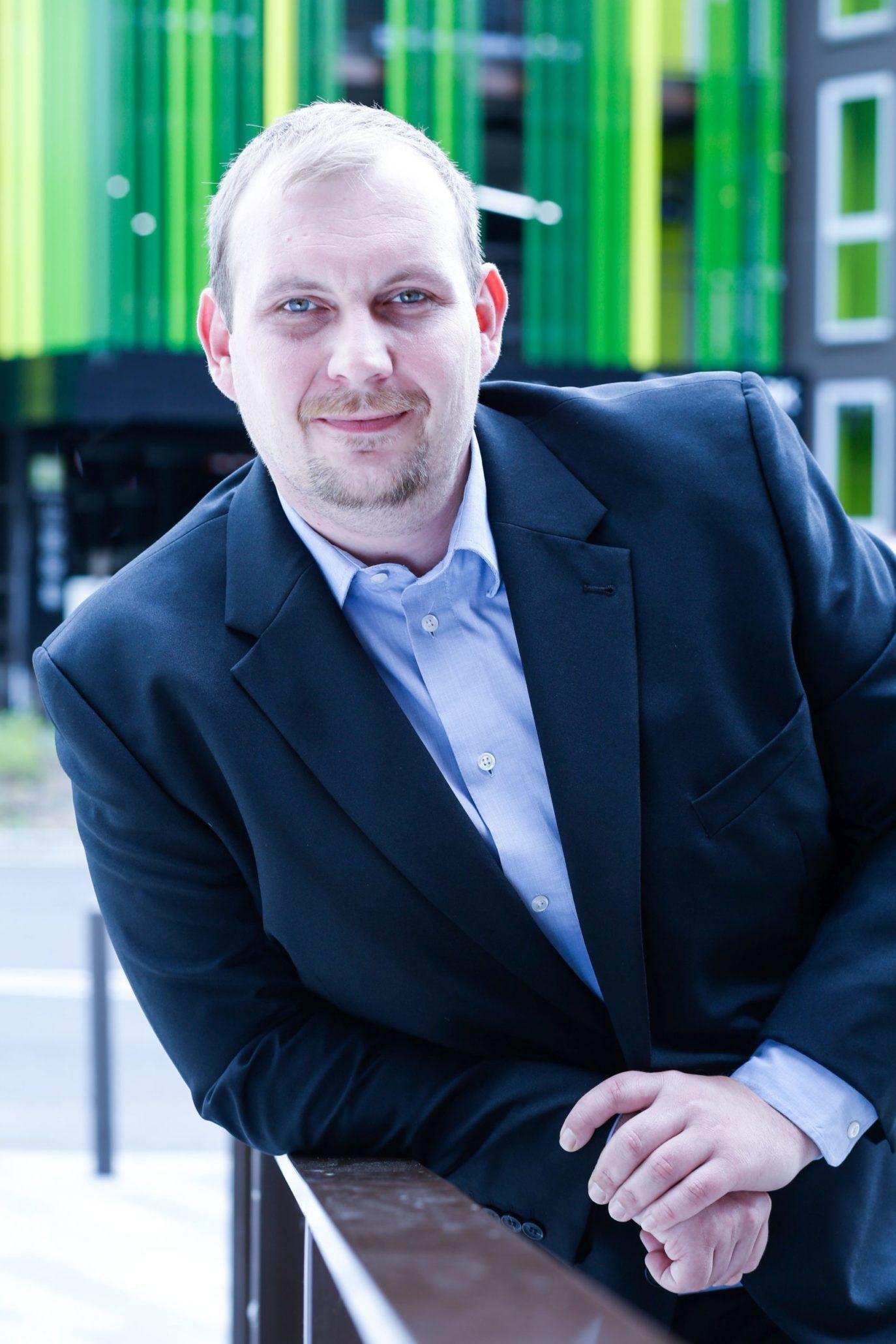 Dominik Halm, einer der Gründer von RUHRSOURCE