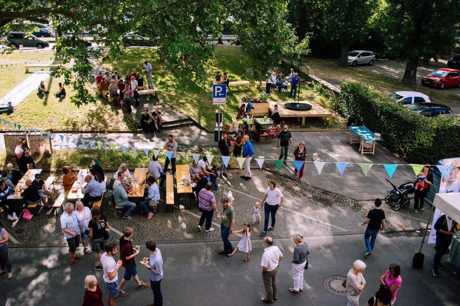 Fest im Quartiersgarten der KoFabrik