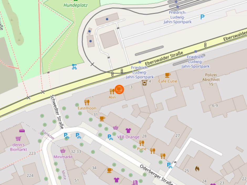 Karte mit dem Standort von KoMoDo