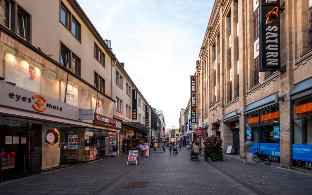 Sofortprogramm Innenstadt: kostengünstige Anmietung in der Bochumer City auch für Urbane Produktion